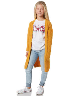 SUNFLOWER KIDS GIRLS EVES SISTER JUMPERS + JACKETS - 9550034YLW