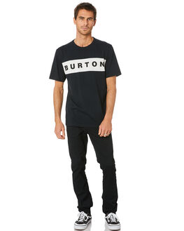TRUE BLACK MENS CLOTHING BURTON TEES - 21763100001