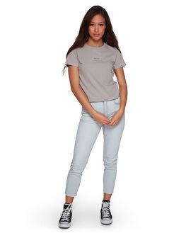 METAL WOMENS CLOTHING RVCA TEES - RV-R407681-M29