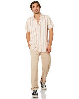 NATURAL MENS CLOTHING AFENDS SHIRTS - M191201NAT