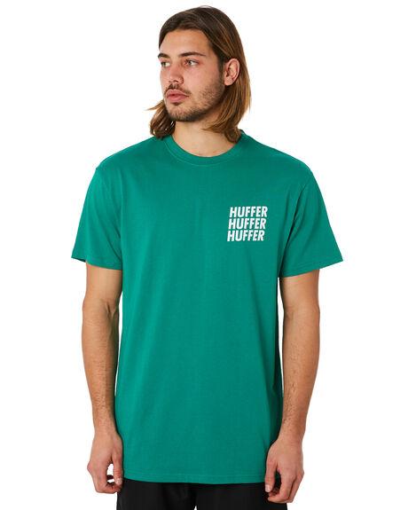 PALM GREEN MENS CLOTHING HUFFER TEES - MTE83S230540PGRN