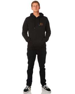 BLACK MULTI MENS CLOTHING SWELL JUMPERS - S5184443BLKM