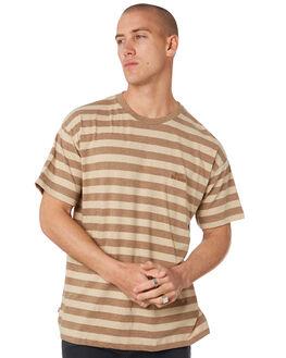 TAN MENS CLOTHING MISFIT TEES - MT096100TAN