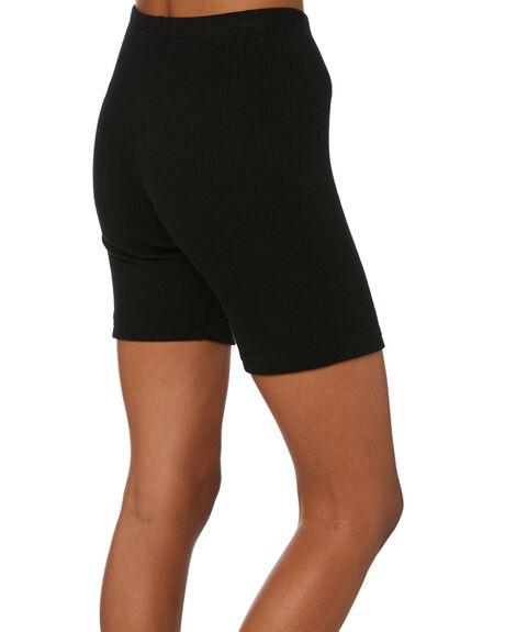 BLACK WOMENS CLOTHING THRILLS SHORTS - WTW21-303BBLK