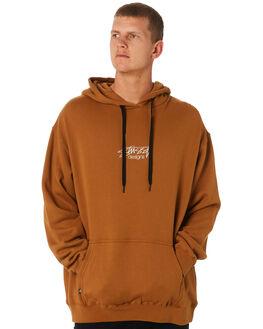 TAN MENS CLOTHING STUSSY JUMPERS - ST091200TAN