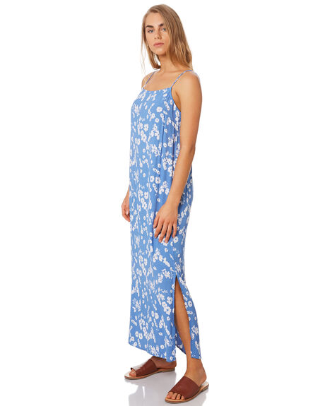 BLUE FLORAL WOMENS CLOTHING ELWOOD DRESSES - W94709H91
