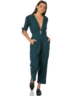 TEAL WOMENS CLOTHING RUE STIIC PLAYSUITS + OVERALLS - SW18-14TLTEAL