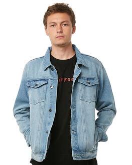 VINTAGE BLUE MENS CLOTHING HUFFER JACKETS - MJA81S002VBLU