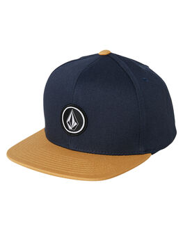 MIDNIGHT BLUE KIDS BOYS VOLCOM HEADWEAR - F5511561MDB