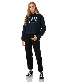 NAVY WOMENS CLOTHING RPM JUMPERS - 9PWT10A2NVY