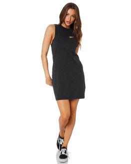 BLACK WOMENS CLOTHING SANTA CRUZ DRESSES - SC-WDA0051BLK