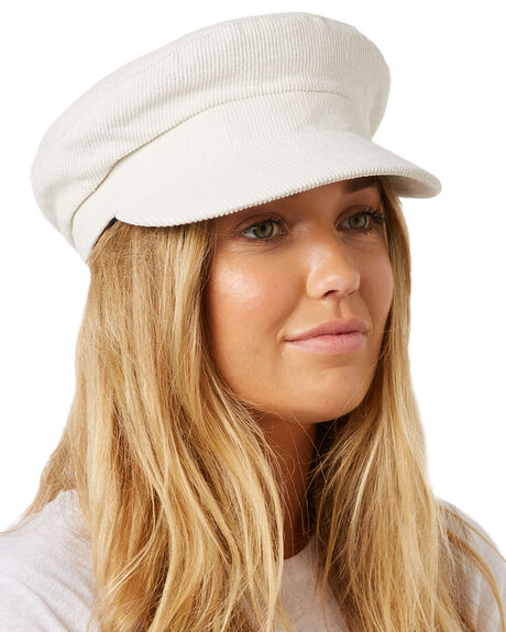 WHITE OUTLET WOMENS LACK OF COLOR HEADWEAR - DNSCAPWHT1WHT