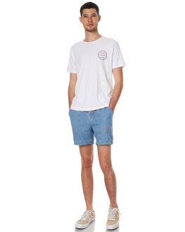 WHITE MENS CLOTHING MOLLUSK TEES - MS1229WHT