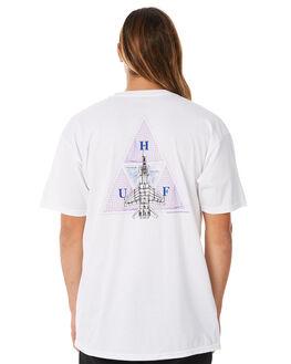 WHITE MENS CLOTHING HUF TEES - HUF-TS00322-WHT