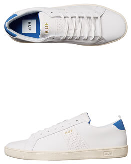 VINTAGE WHITE ROYAL MENS FOOTWEAR HUF SNEAKERS - CP00002WHI