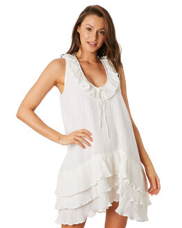 WHITE WOMENS CLOTHING RUE STIIC DRESSES - RWS-19-43-1WHT