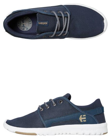 NAVY MENS FOOTWEAR ETNIES SNEAKERS - 4101000419467