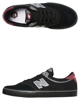 BLACK MENS FOOTWEAR NEW BALANCE SNEAKERS - NM255BBUBLK