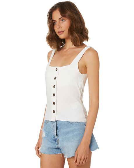 OFF WHITE WOMENS CLOTHING THE HIDDEN WAY SINGLETS - H8182272OFFWH