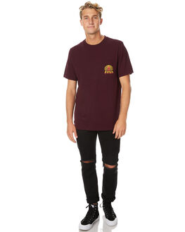 PLUM MENS CLOTHING RVCA TEES - R171063PLUM