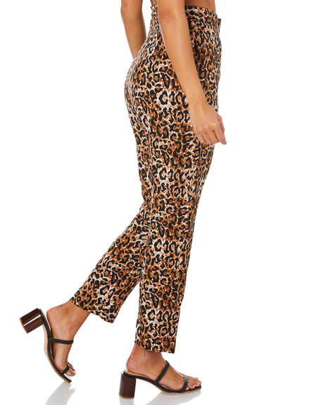LEOPARD OUTLET WOMENS TIGERLILY PANTS - T305382LEO