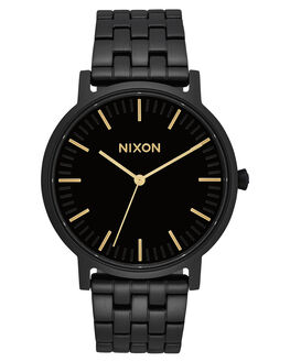 ALL BLACK GOLD MENS ACCESSORIES NIXON WATCHES - A10571031