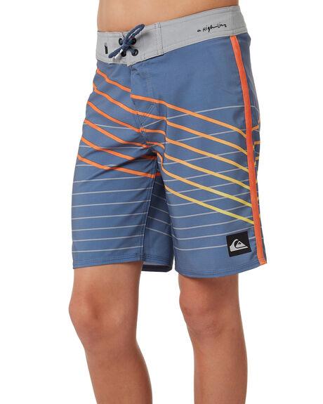 Quiksilver Highline Shibori Slash Boardshorts - Bijou Blue ...