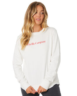DIRTY WHITE OUTLET WOMENS THRILLS JUMPERS - WTA9-205ADWHT