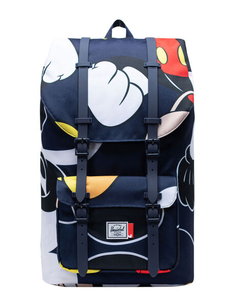 MICKEY PAST FUTURE MENS ACCESSORIES HERSCHEL SUPPLY CO BAGS + BACKPACKS - 10014-03928-OSBLK