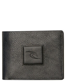 BLACK MENS ACCESSORIES RIP CURL WALLETS - BWLMR10090