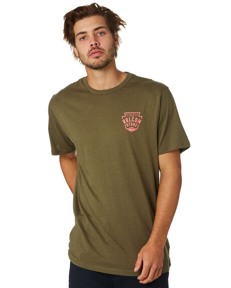 MILITARY MENS CLOTHING VOLCOM TEES - A50417G5MIL