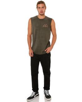 BELUGA MENS CLOTHING DEUS EX MACHINA SINGLETS - DMA81196BBLGA