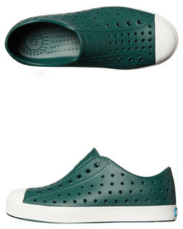 BOTANIC GREEN WHITE KIDS BOYS NATIVE FOOTWEAR - 12100100-3091