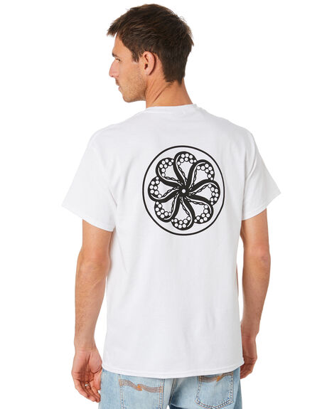WHITE MENS CLOTHING OCTOPUS TEES - OCTO-OL-WHT