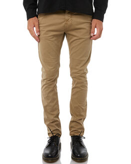 BEIGE MENS CLOTHING NUDIE JEANS CO PANTS - 120104BEIG