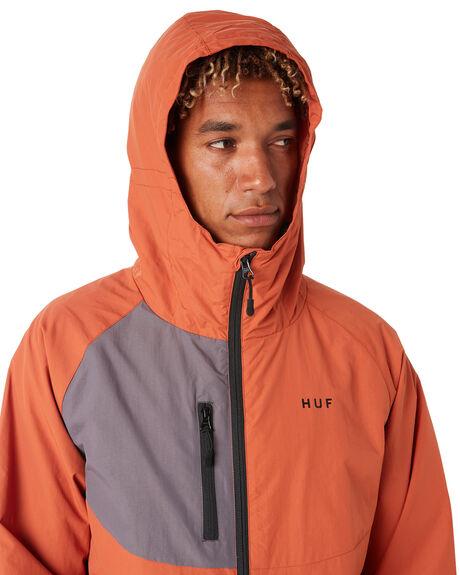 RUST MENS CLOTHING HUF JACKETS - JK00157-RUST
