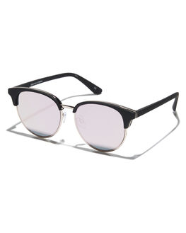 BLACK RUBBER UNISEX ADULTS LE SPECS SUNGLASSES - 1702041BLKRB