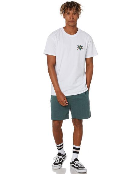 WHITE MENS CLOTHING RUSTY TEES - TTM2500WHT