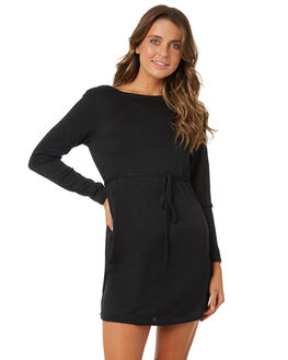 BLACK WOMENS CLOTHING BILLABONG DRESSES - 6585474BLACK
