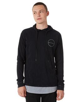 BLACK GREY MENS CLOTHING SILENT THEORY TEES - 4014017BLKG