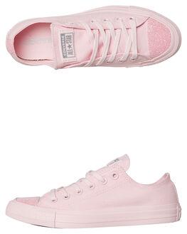PINK WOMENS FOOTWEAR CONVERSE SNEAKERS - 563466PNK