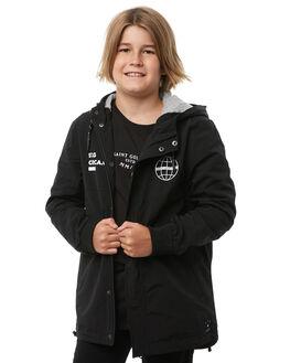BLACK KIDS BOYS ST GOLIATH JUMPERS - 2413026BLK