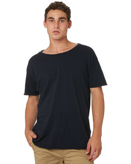 NAVY MENS CLOTHING NUDIE JEANS CO TEES - 131484B25NVY