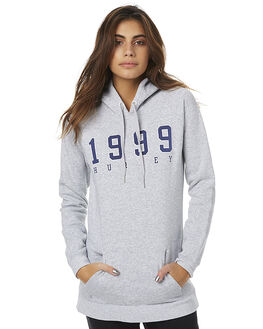 HEATHER GREY WOMENS CLOTHING HURLEY JUMPERS - AGFLMODFHTG