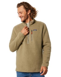 SAGE KHAKI MENS CLOTHING PATAGONIA JUMPERS - 22811SKA