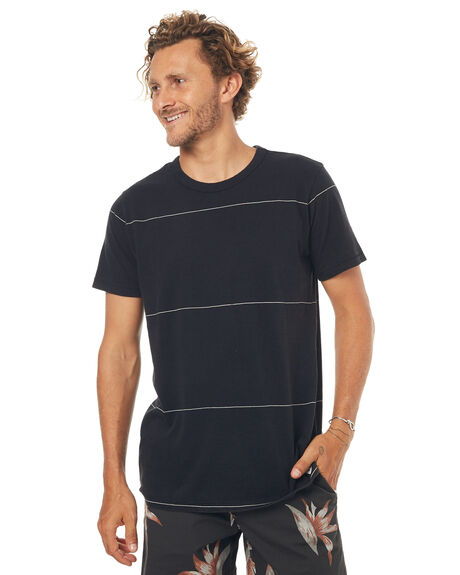 BLACK MENS CLOTHING BILLABONG TEES - 9571081XBLK