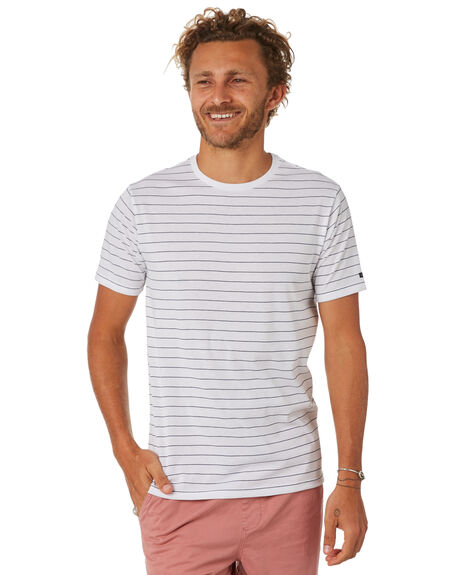 WHITE MENS CLOTHING RIP CURL TEES - CTELP21000