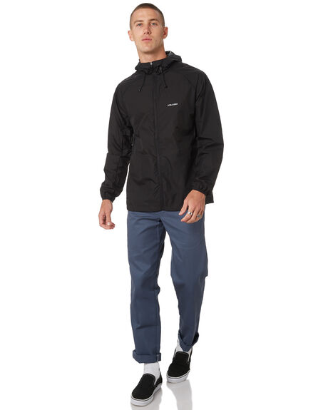BLACK MENS CLOTHING VOLCOM JACKETS - A1511906BLK