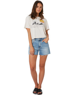 VANILLA WOMENS CLOTHING RIP CURL TEES - GTENA9-0174
