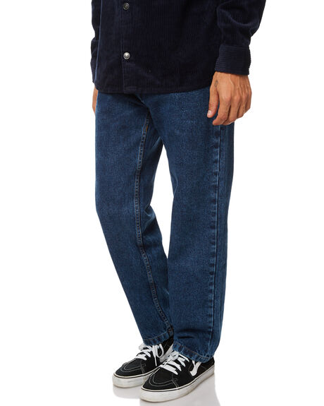 DARK BLUE MENS CLOTHING POLAR SKATE CO. JEANS - PSC90SJDBLU
